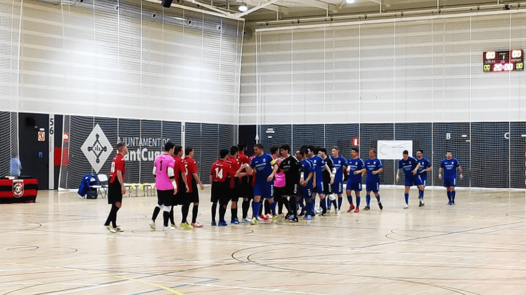 El Sant Cugat de futbol Sala s'endú el derbi contra l'Olimpyc Floresta