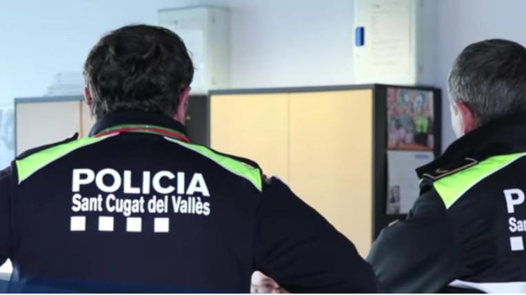 Aïllats dos agents de la Policia Local