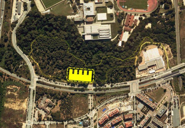 Nova ubicació per construir l'edifici de l'escola La Mirada