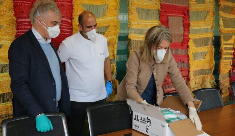 Particulars i empreses han donat en una setmana 4.200 mascaretes a l'Ajuntament
