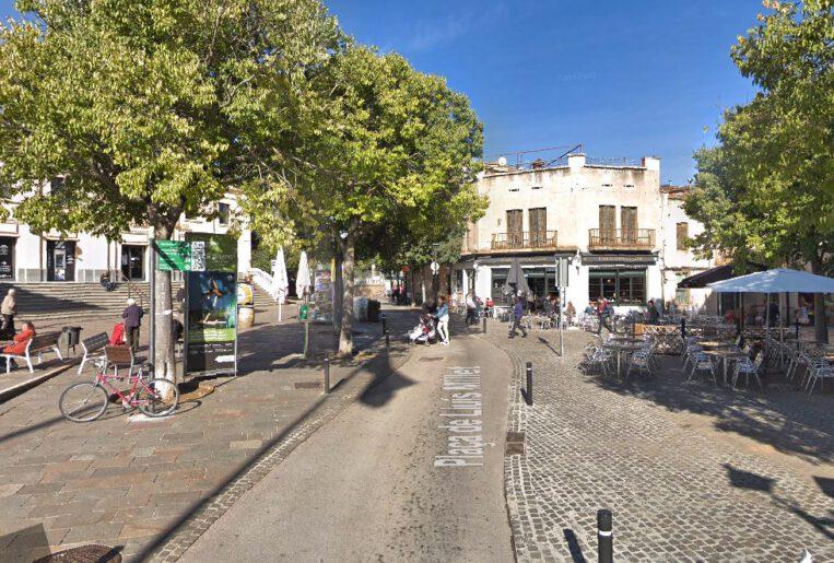L'autobús urbà deixarà de passar per la plaça de Lluís Millet