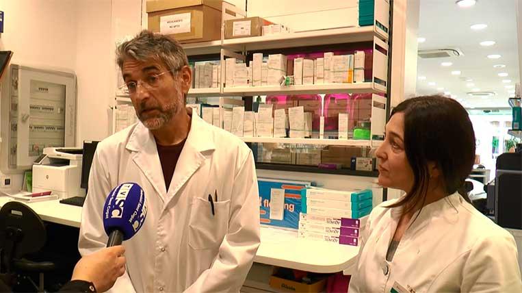 Cau el sistema informàtic de  les farmàcies i no poden continuar dispensant mascaretes