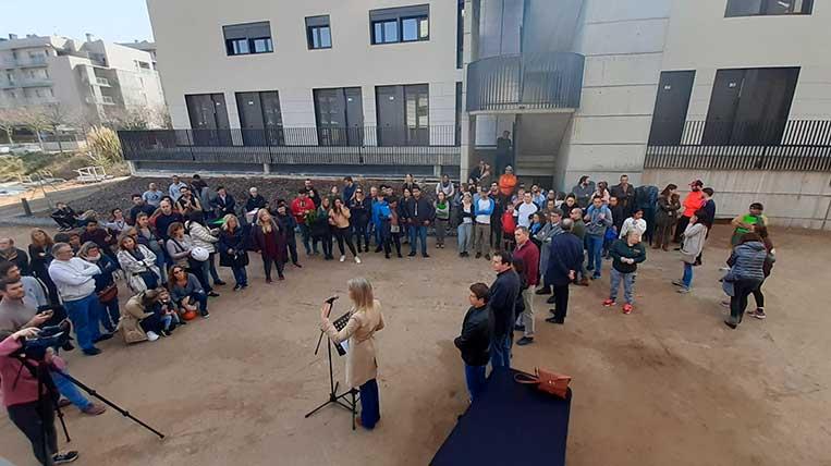 Promusa entrega les claus de 58 habitatges de protecció oficial a Can Mates amb polèmica