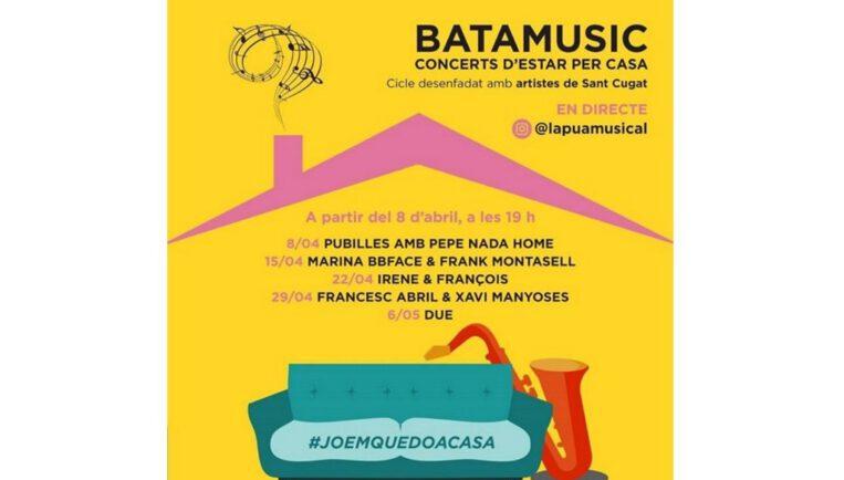 Arriba Batamusic: concerts d'artistes santcugatencs a través d'Instagram