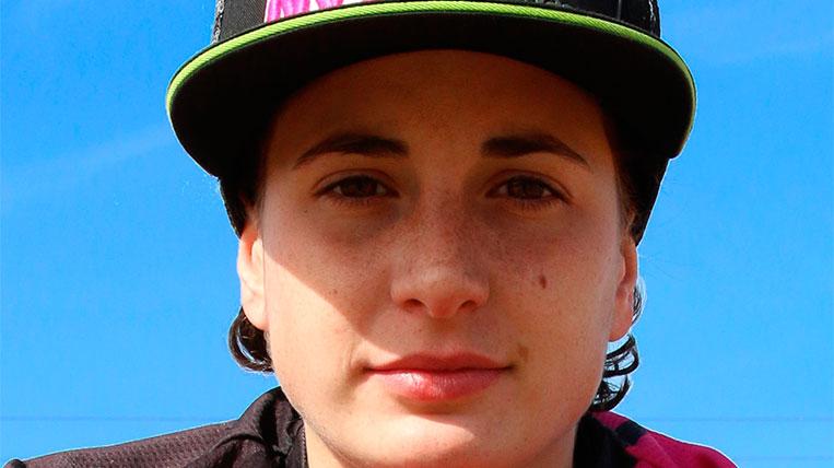 Ana Carrasco, pilot de motos