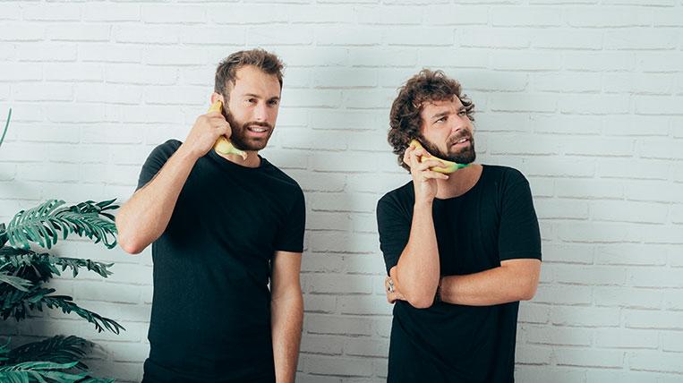 Arnau Blanch i Eric Griso, membres d'Arnau Griso