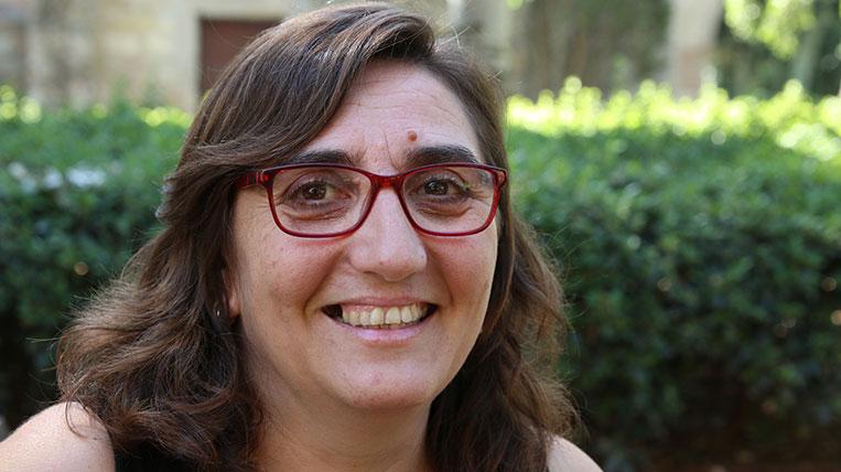 Eva Tataret, membre de la Coordinadora d'Entremesos de Cultura Popular i Tradicional Catalana de Sant Cugat