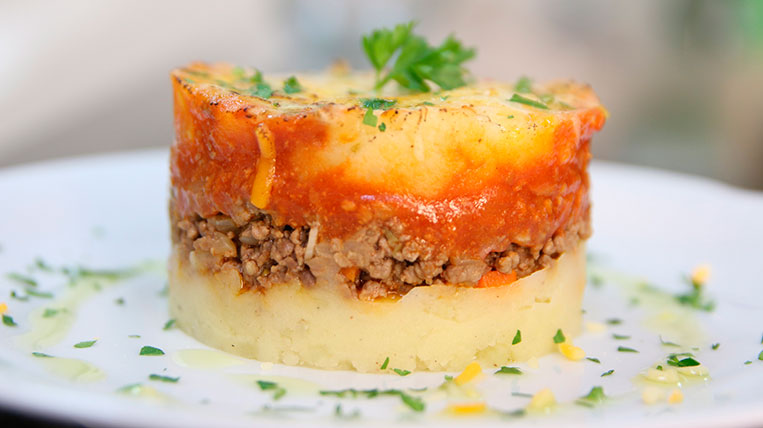 Pastís de carn amb patates