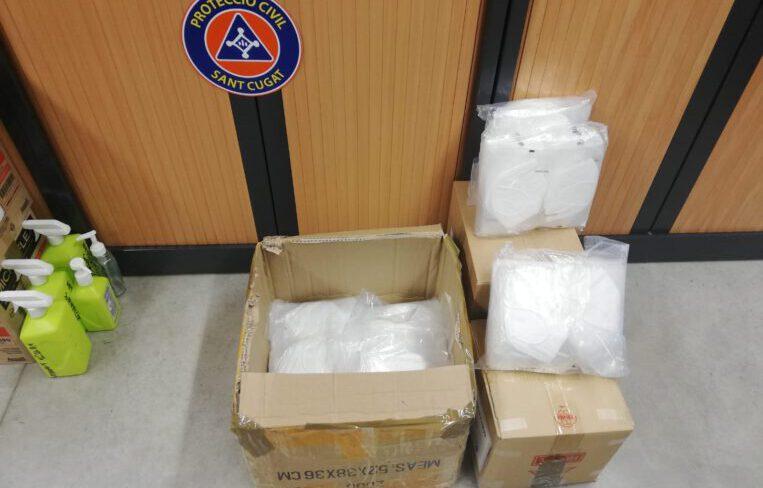 L'Ajuntament compra 1.000 mascaretes pels treballadors de residències, voluntaris i personal municipal