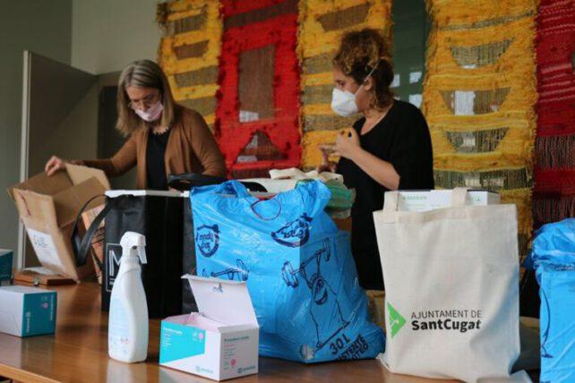 L'Ajuntament fa una crida a persones voluntàries per cosir mascaretes