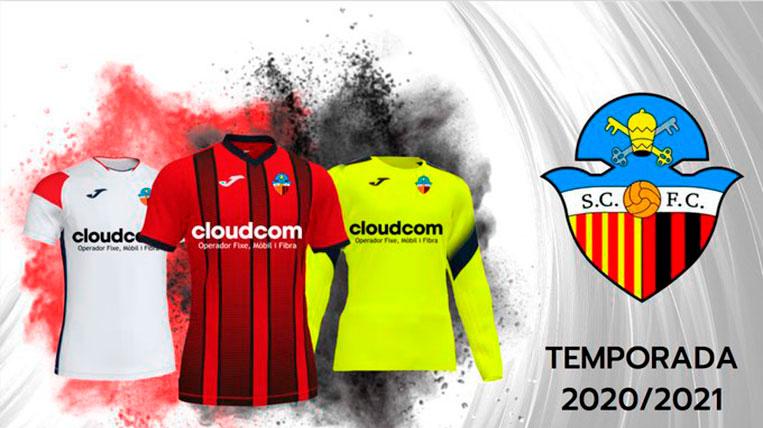 El Sant Cugat FC presenta les noves equipacions per a la temporada 2020/2021